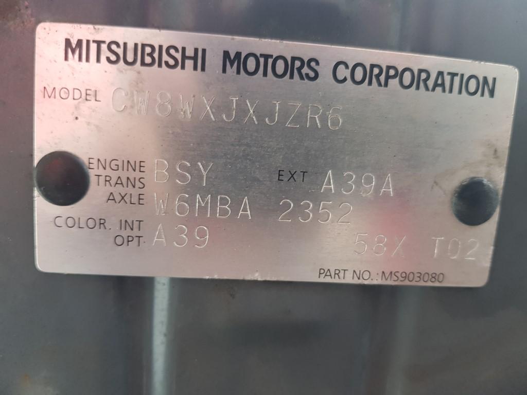 ref 120 Mitsubishi Outlander Intense Warrior 2.0D 4×4 2008