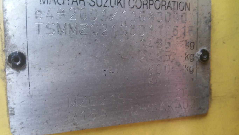 REF 48 SUZUKI SWIFT 2006 1.5 PETROL YELLOW