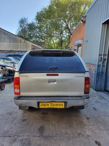 REF 148 TOYOTA HILUX 4X4 2009 DIESEL SILVER 3.0D4D 4 SPEED AUTO